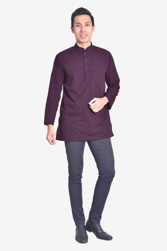 Kurta Idrees - Deep Purple