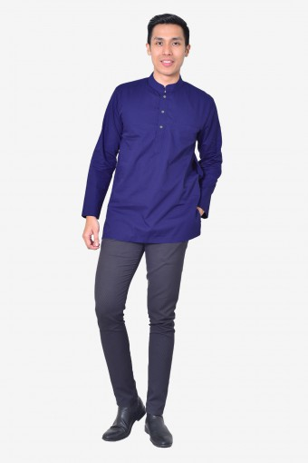 Kurta Idrees - Royal Blue